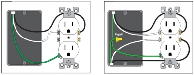 usb receptacle wiring bf3a4eb8 how to install a usb wall receptacle receptacle wiring at crackthecode.co
